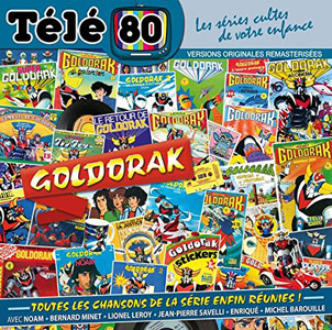 Le second CD de Goldorak de Télé 80