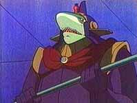 Un homme-requin